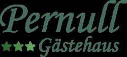 Logo - [Gearchiveerd] - Gästehaus Pernull