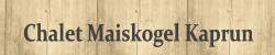 Logo - Chalet Maiskogel