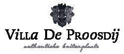 Logo - Villa De Proosdij