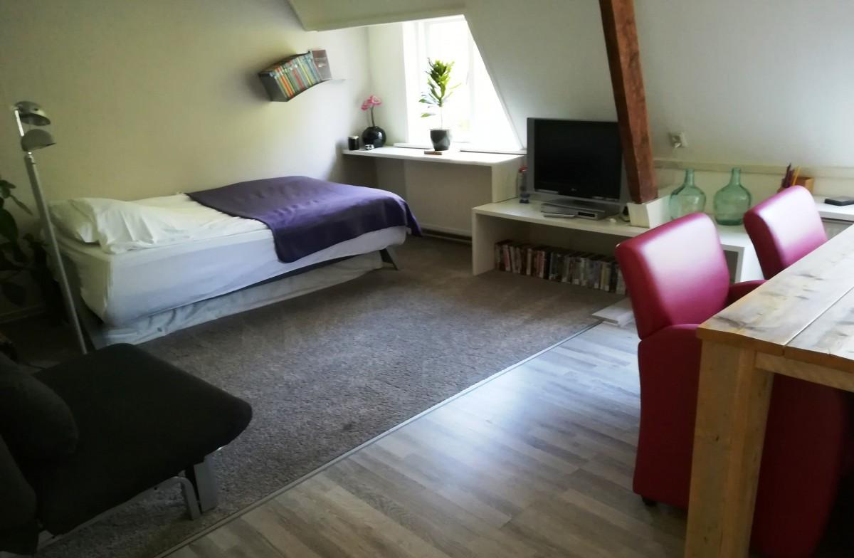 Hazenkampkamer voor 2 a 3 personen
