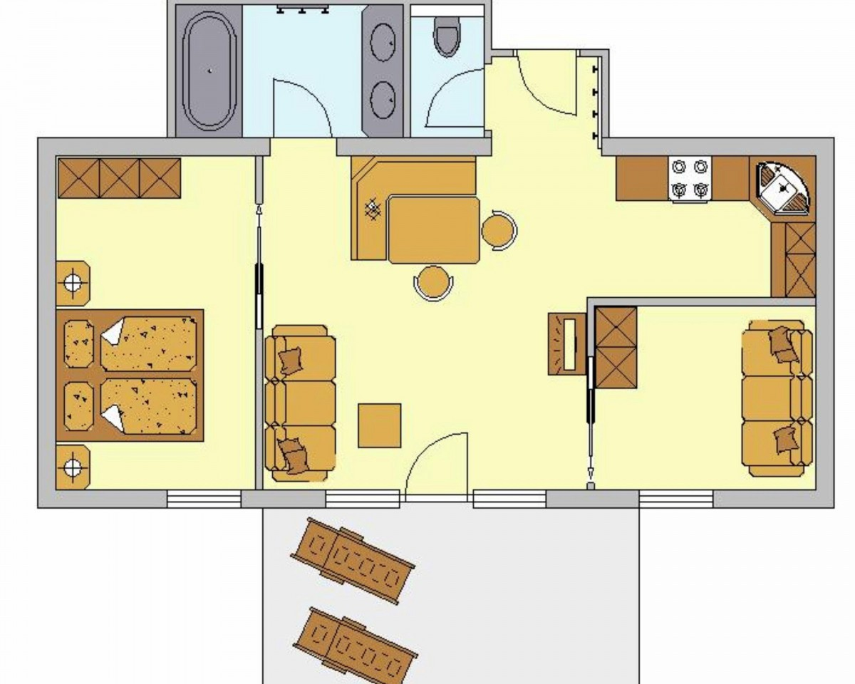 Изображение на Апартамент тип B