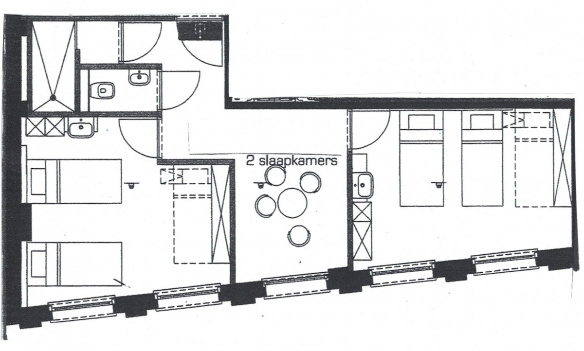 Image of Budget Apartment (1-8p, 1 private bathroom, kitchen)