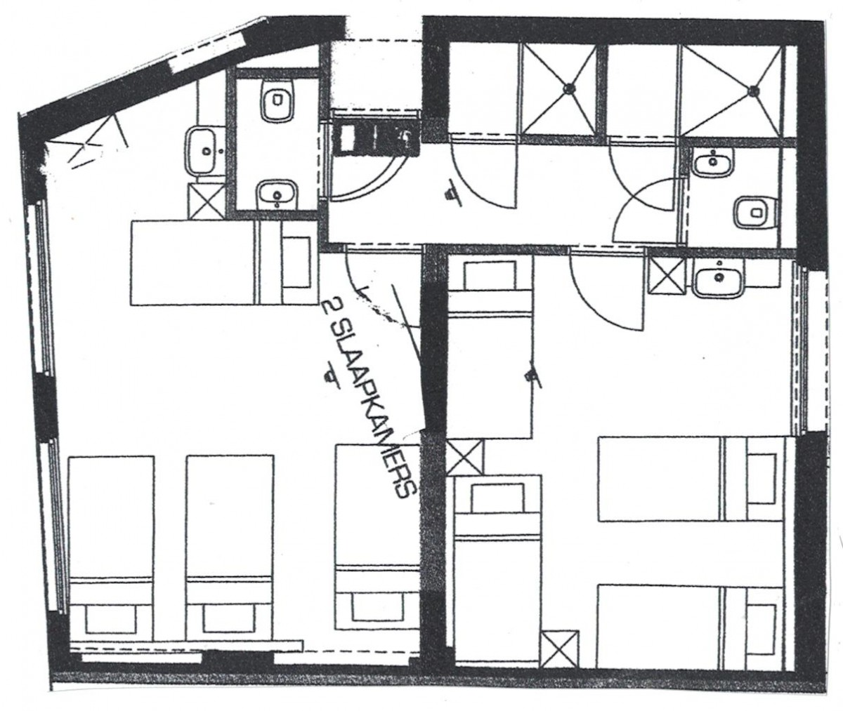 Image of Budget unit 2 rooms (1-10p, 2 private bathrooms)