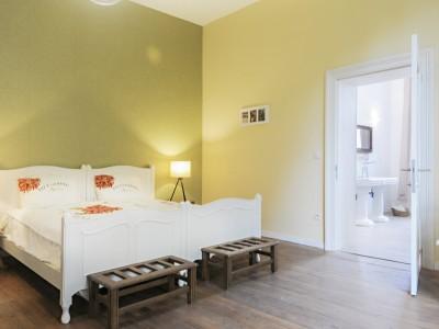 dubbele kamer met vrijstaand ligbad