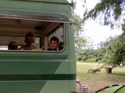 Camperplaats met electriciteitsaansluiting zonder sanitair