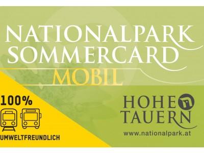 Nationalpark Sommercard Gratis für unsere Gäste