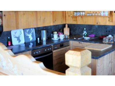 Gemeenschappelijke ruimte met keuken