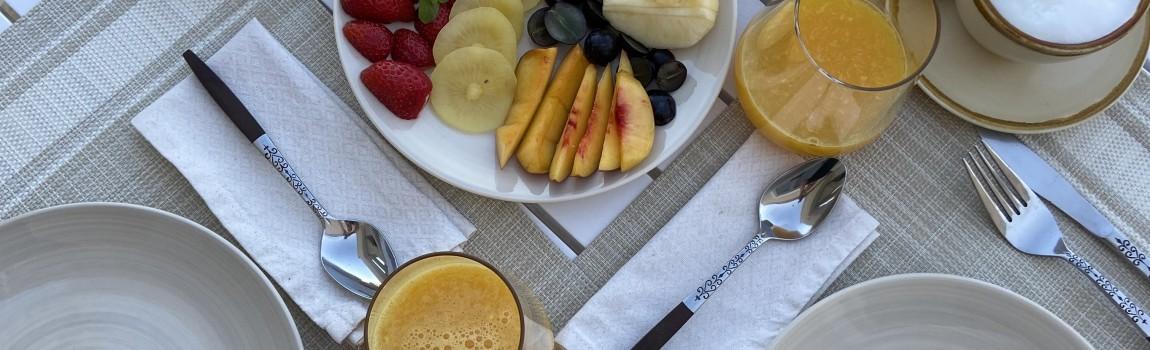 Start de dag met ons uitgebreid, gezond ontbijt