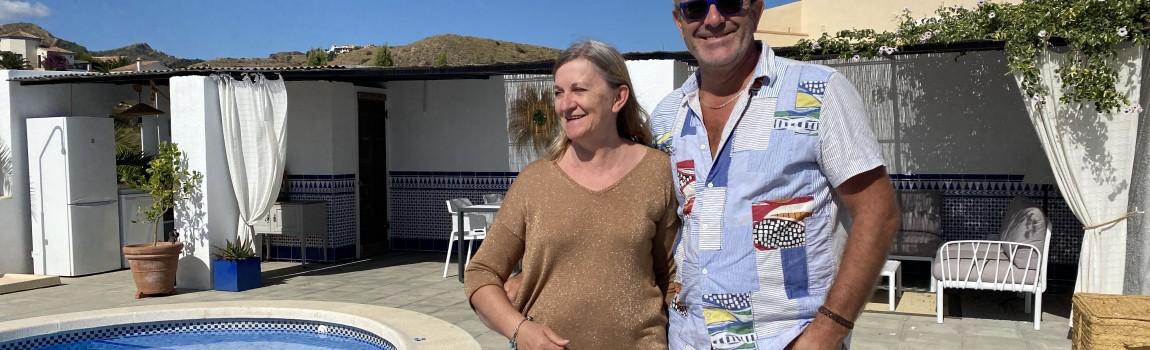 Claudine en Erik (14/10/2020)